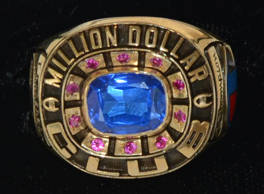 Champion Products Million Dollar Club Ring